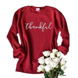 Thankful Sweatshirt / Thanksgiving Sweatshirt